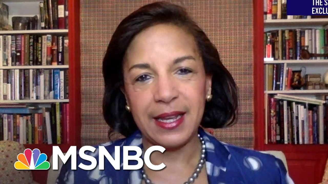 The Sunday Show Exclusive: Susan Rice Makes Case For Biden's Racial Justice, Equity Plan   MSNBC 7