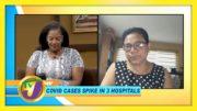 Jamaica Covid Cases Spike in 3 Hospitals: TVJ Smile Jamaica - January 5 2020 2