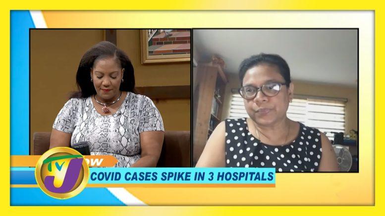 Jamaica Covid Cases Spike in 3 Hospitals: TVJ Smile Jamaica - January 5 2020 1