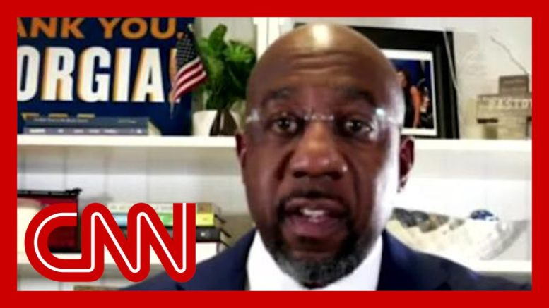 CNN projects Rev. Raphael Warnock wins runoff to become first Black senator from Georgia 1