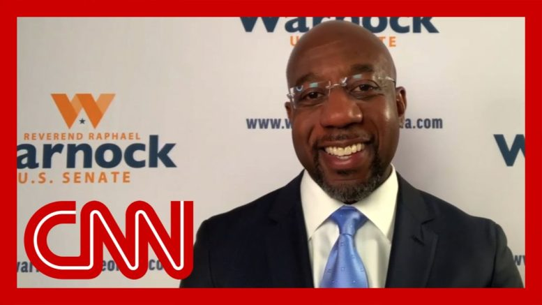 Raphael Warnock gives first interview after projected Senate win 1