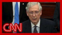 Watch McConnell side against Trump in Senate speech 9
