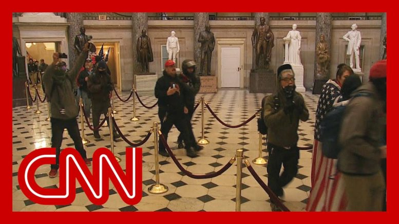 See stunning video of rioters inside Capitol 1