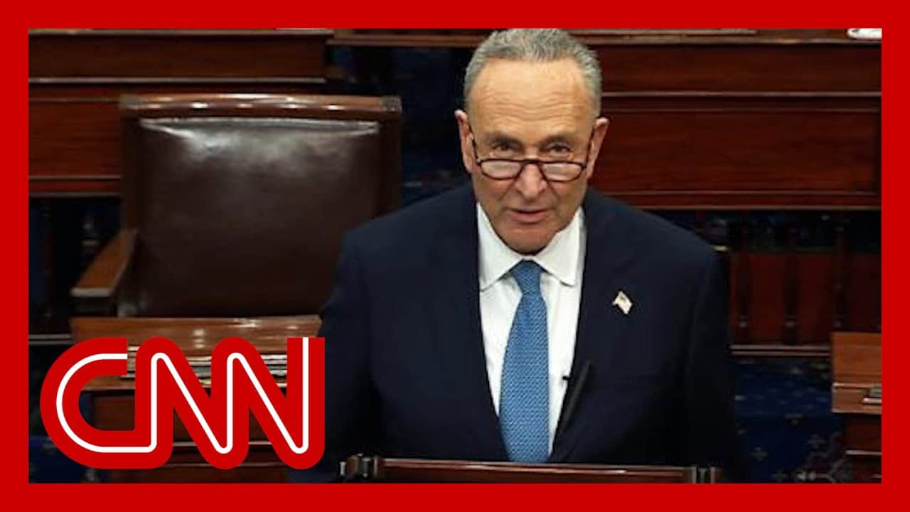 Schumer: Sad that accepting election result is an act of courage 1