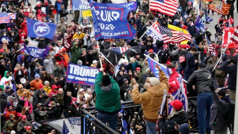 Pro-Trump protests in Washington are the last 'primal scream' of his presidency: Smith 1
