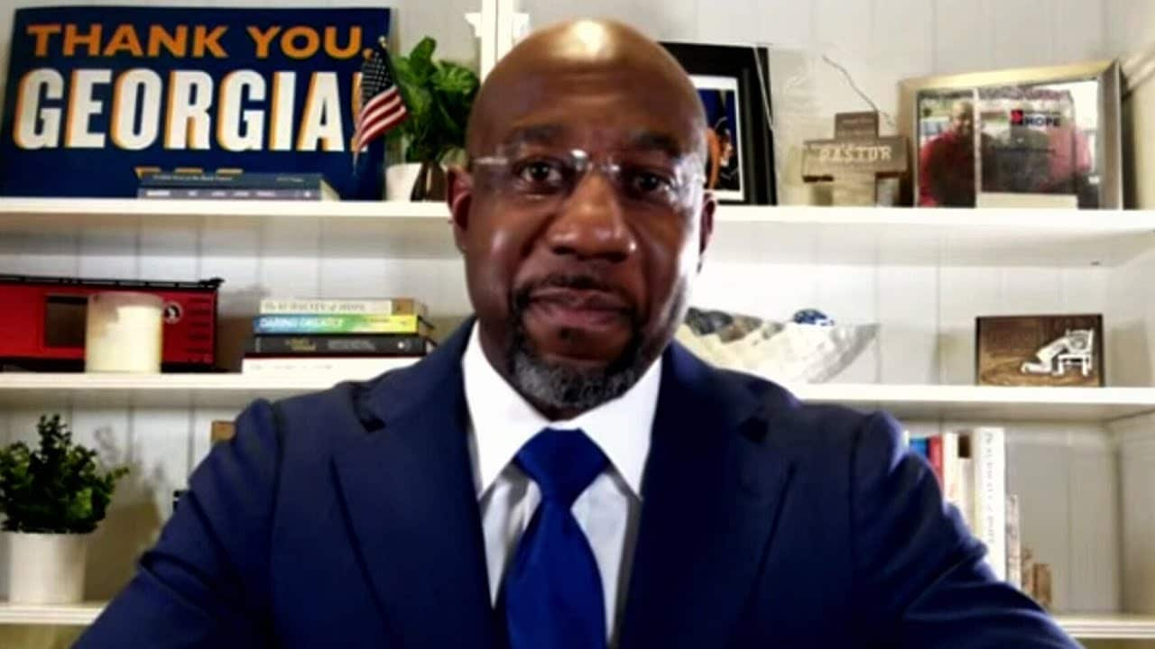 'May my story be an inspiration': Watch Raphael Warnock's victory speech 5