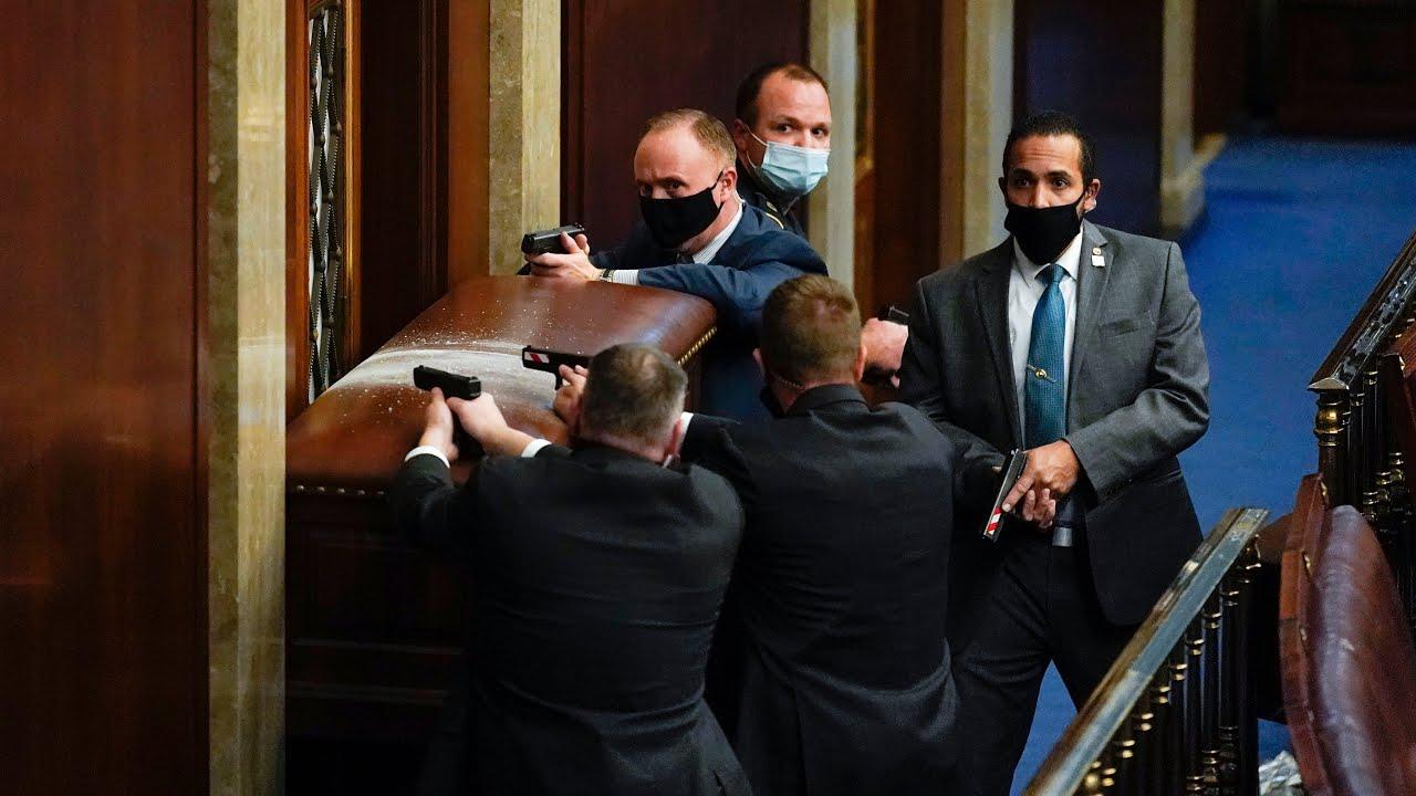Mike Pence evacuated, Washington placed under lockdown as pro-Trump protestors storm U.S. Capitol 1