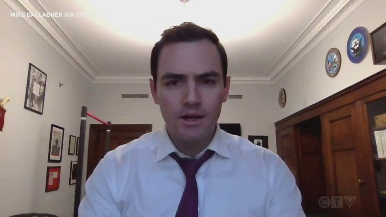 'This is Banana Republic crap': GOP Congressman Mike Gallagher shelters in his office 3