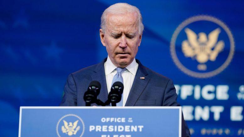 President-elect Biden speaks: 'It's not a protest, it is insurrection'   U.S. Election 1