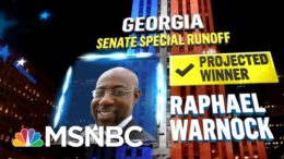 Warnock Wins Georgia Senate Election, NBC News Projects | MSNBC 8