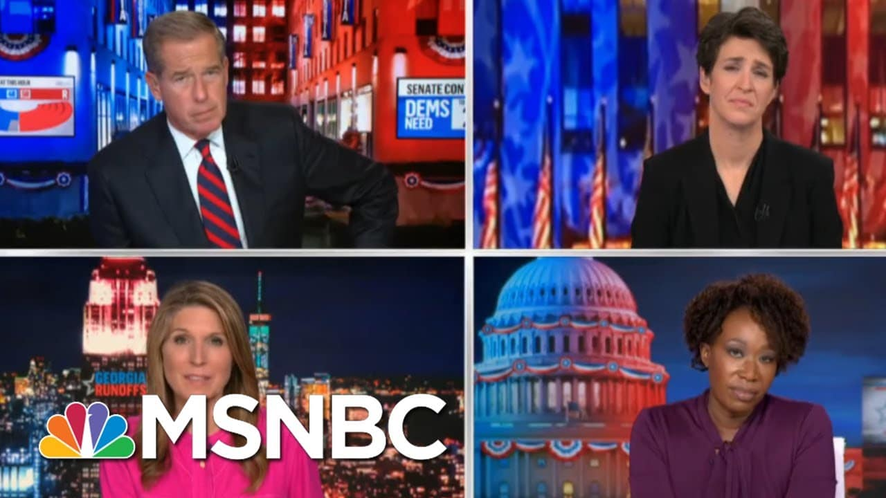 Watch For Republicans To Use Trump Vote Fraud Lies To Push Vote Suppression Rules | Rachel Maddow 1