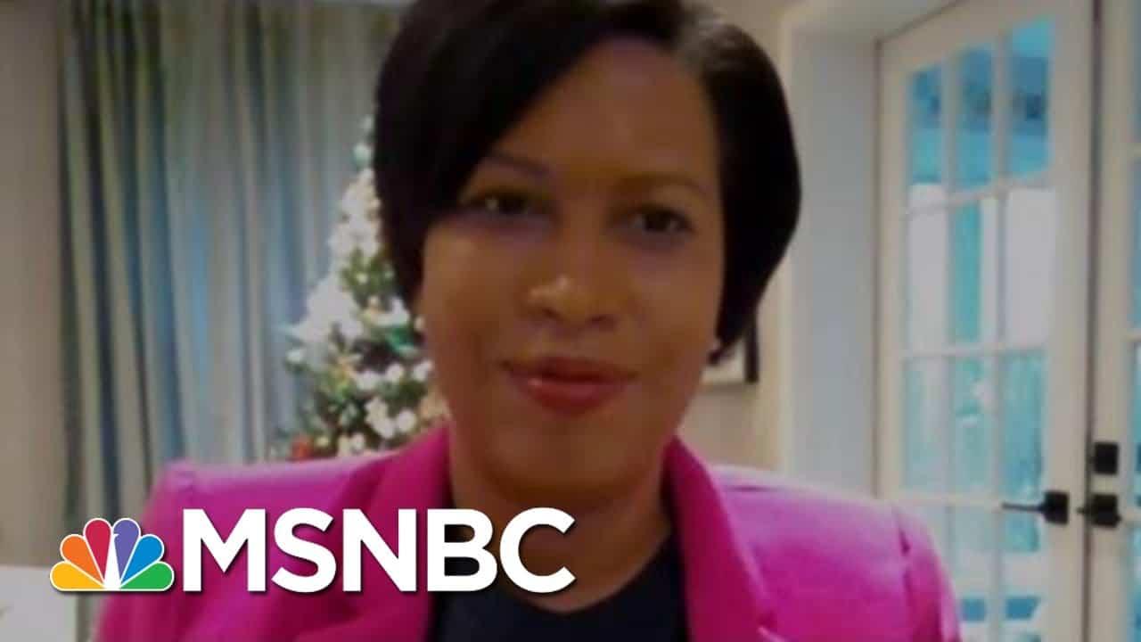 Washington D.C. Braces For Pro-Trump Rallies   Morning Joe   MSNBC 1