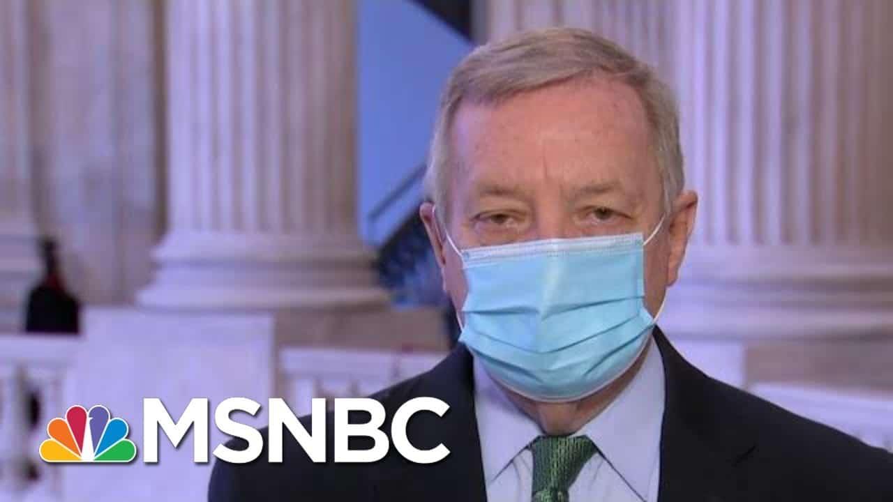Sen. Durbin: I Hope Pence Will Join In Certifying Biden Win | Morning Joe | MSNBC 1