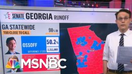 GA Election Official Predicts Ossoff May Gain Lead Outside Of Recount Percentage | Hallie Jackson 9