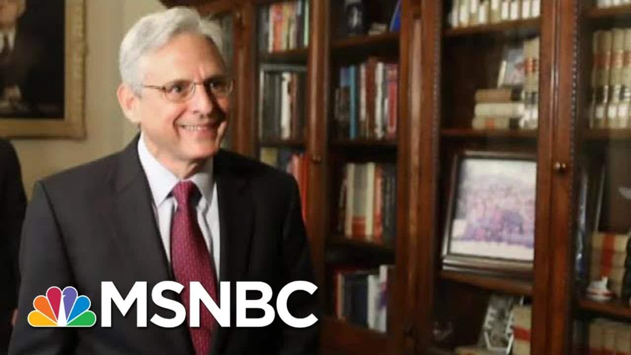 Biden To Pick Merrick Garland For Attorney General | MTP Daily | MSNBC 1