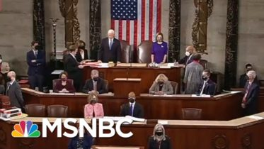 Chuck Todd On Standing Ovation From GOP Officials: 'Uncomfortable Thing To See' | MSNBC 6