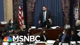 Vice President Mike Pence Appears To Be Escorted Out Of The Senate Chamber   MTP Daily   MSNBC 6