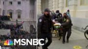 """Woman Rushed Out Of Capitol Building On A Stretcher, """"Covered In Blood"""" 