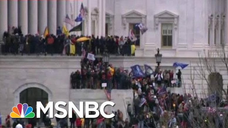NBC News Producer From Inside The Capitol: 'We Were All Sheltering' | MTP Daily | MSNBC 1