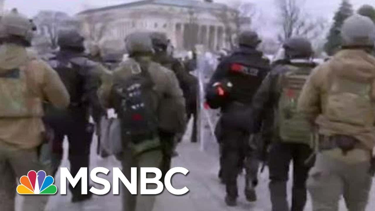 One Person Shot Inside The US Capitol By A Member Of Law Enforcement | MTP Daily | MSNBC 1
