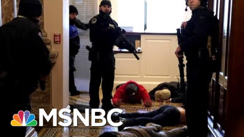 Former Sergeant At Arms: 'There Was A Freaking Failure' Of Capitol Law Enforcement   MTP Daily 1