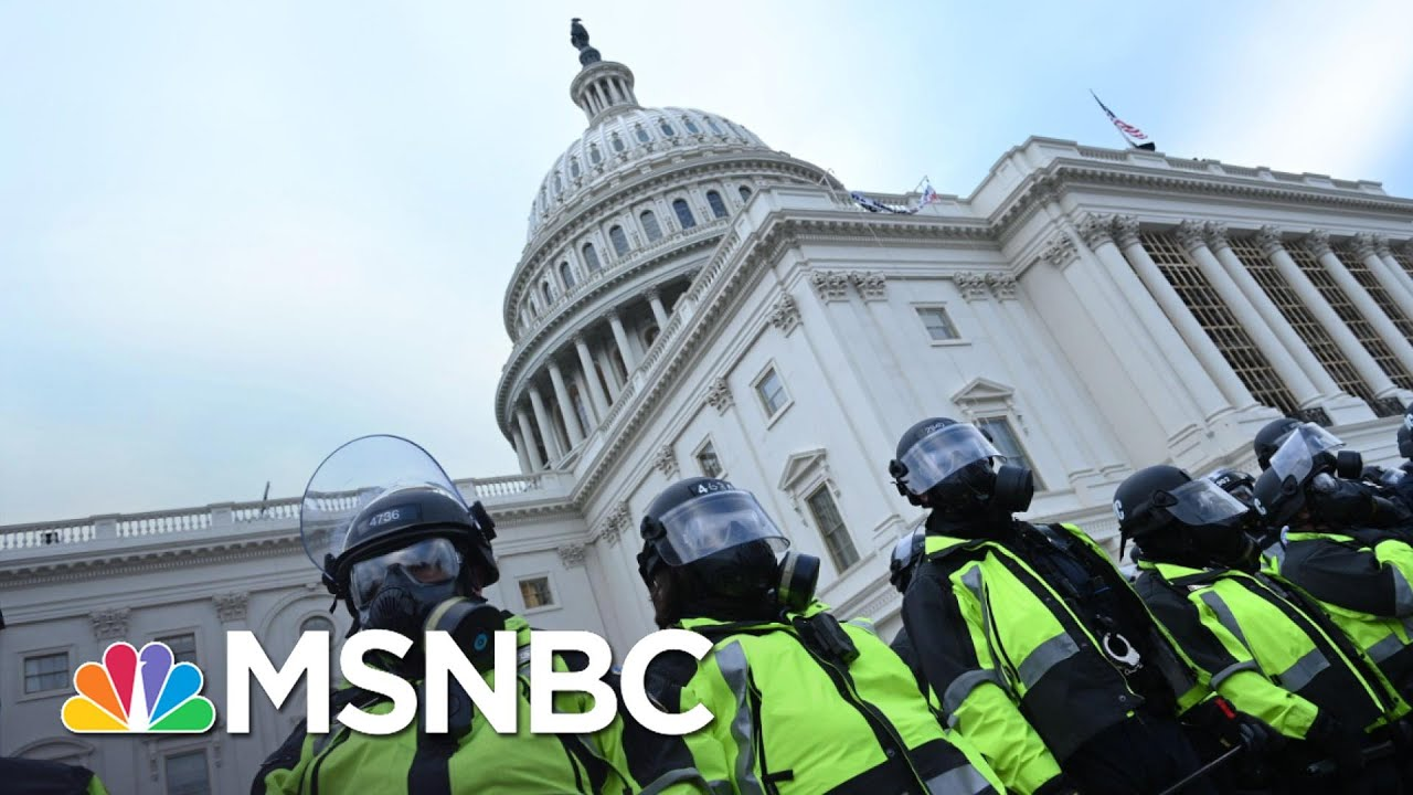 Latest On Capitol Hill: Explosive Device Found, Mob Roams Building   MSNBC 1