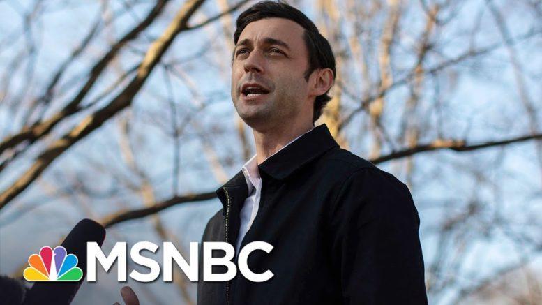 Jon Ossoff Will Win Georgia Runoff, NBC News Projects, Dems To Control Senate | MSNBC 1
