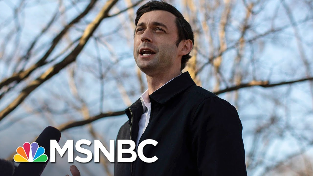 Jon Ossoff Will Win Georgia Runoff, NBC News Projects, Dems To Control Senate | MSNBC 2