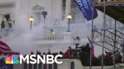 Flash Grenades, Tear Gas Deployed On Exterior Capitol Balcony | MSNBC 5