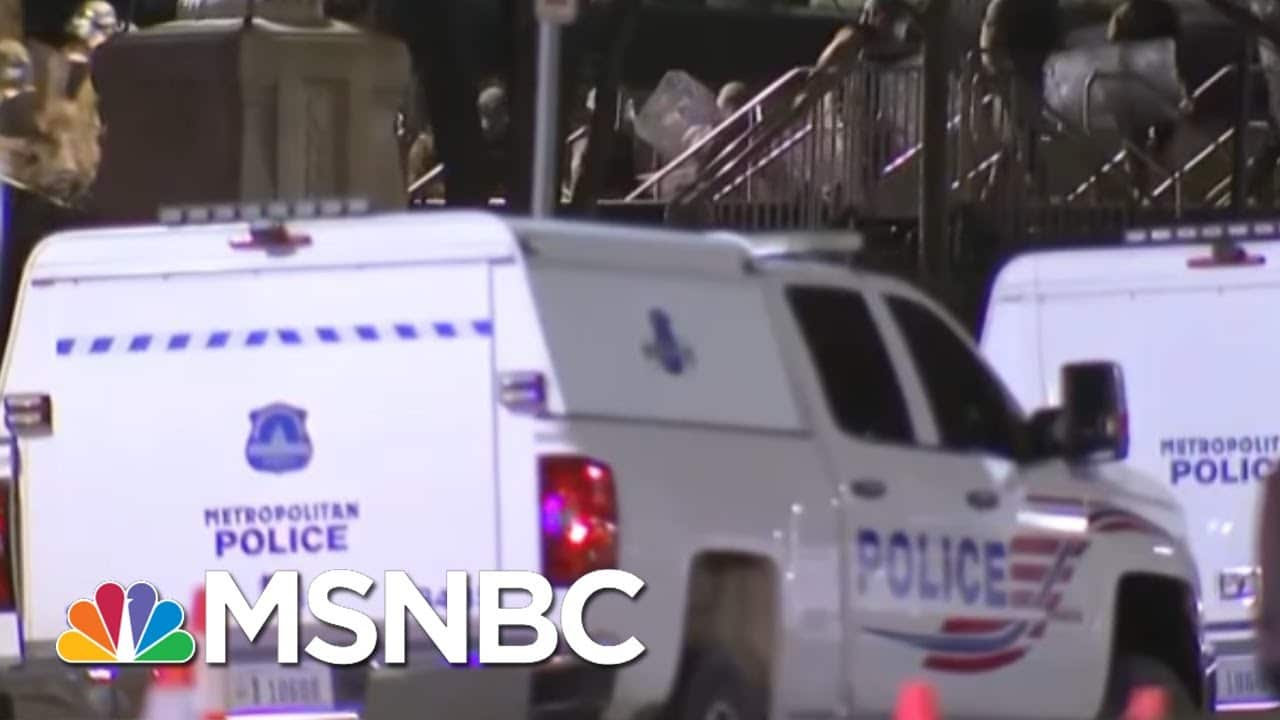 Reid: If This Was A BLM Protest, 'There Would Already Be People Shackled, Arrested Or Dead'   MSNBC 1