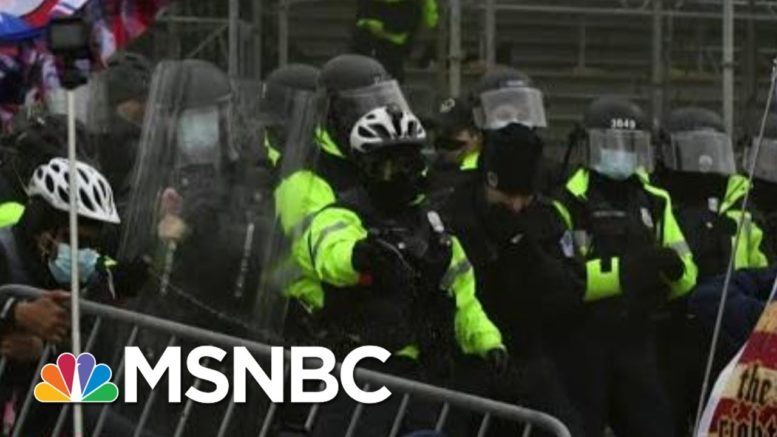 Pelosi Commits To Continuing Electoral Count After 'Shameful Assault'   MSNBC 1
