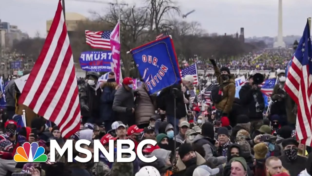 Maddow: Where Is The Federal Leadership Response To Trump's Violent Mob? | MSNBC 1