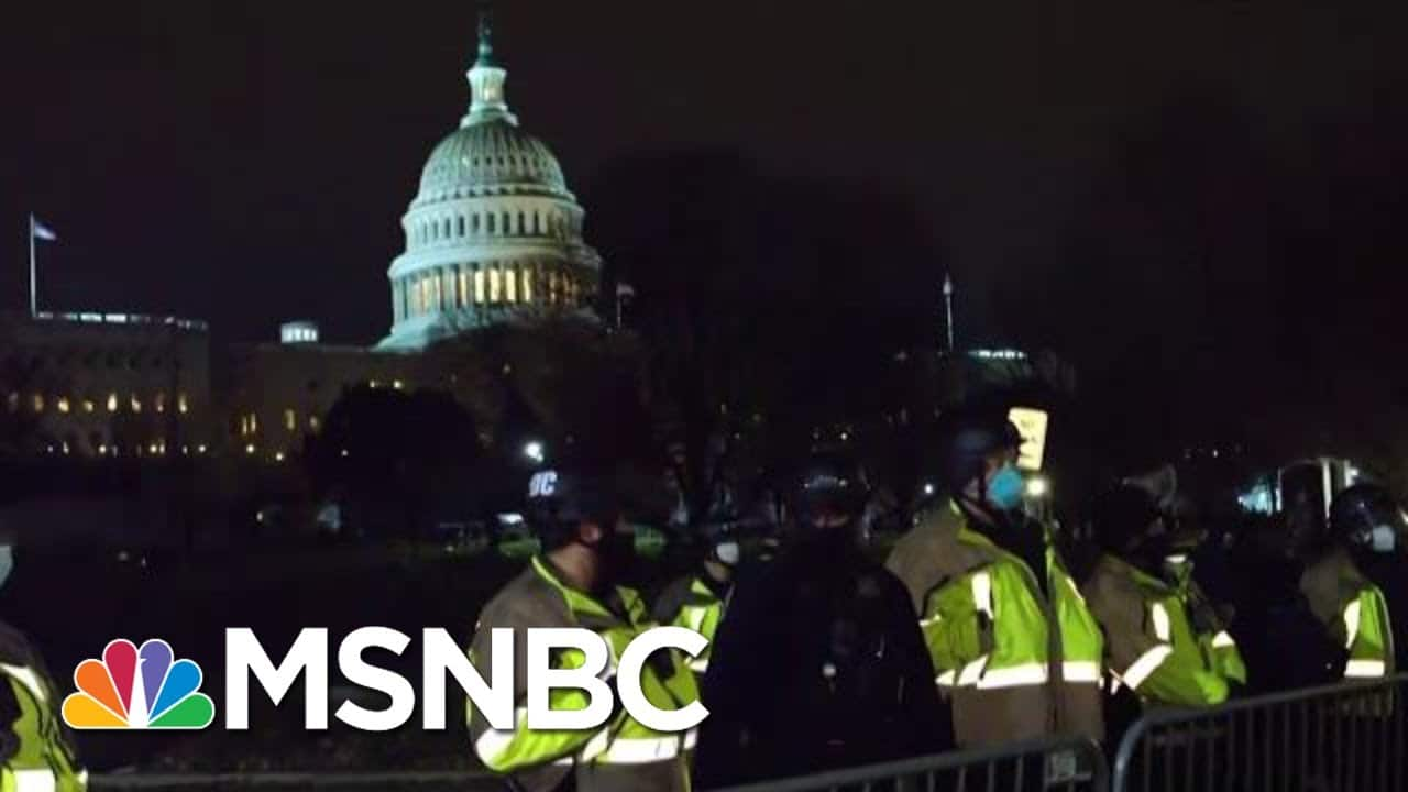 'Brainwashed Americans' Pose Domestic Terror Threat In 'Staggering Failure' To Predict Riots | MSNBC 1