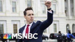 Claire McCaskill Condemns Sen. Josh Hawley's Objection To Electoral College Results | MSNBC 1