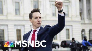 Claire McCaskill Condemns Sen. Josh Hawley's Objection To Electoral College Results   MSNBC 6