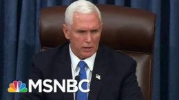 """""""Violence Never Wins"""": Pence Condemns Trump Mob As Senate Resumes Business 