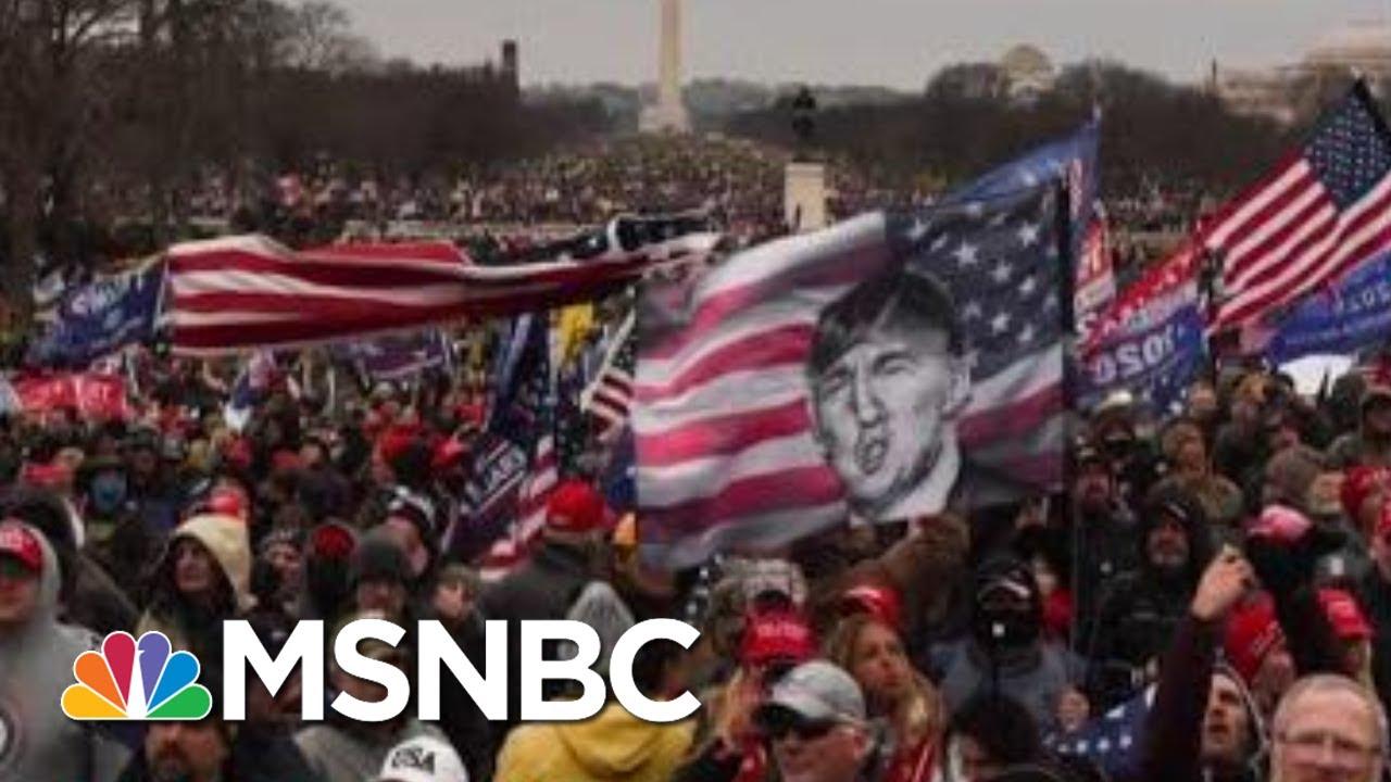 Joy Reid: 'This Is A Riot At Minimum, It's Insurrection'   MSNBC 8