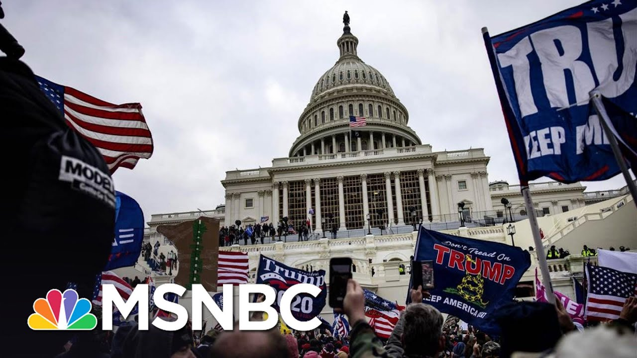 A 'Surreal, Bizarre' Day: Congress Returns After Pro-Trump Insurrection | The 11th Hour | MSNBC 2