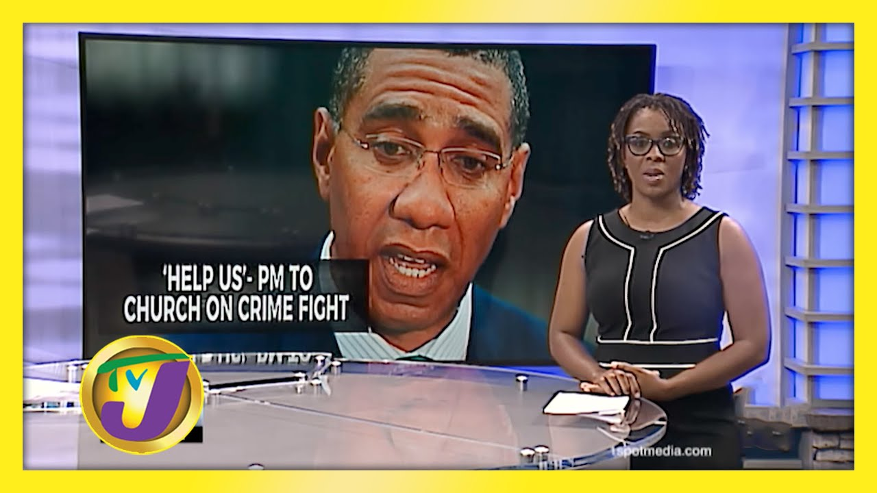 'Help Us' - Jamaica's PM Calls on Church to Help Crime Fight - January 6 2021 1