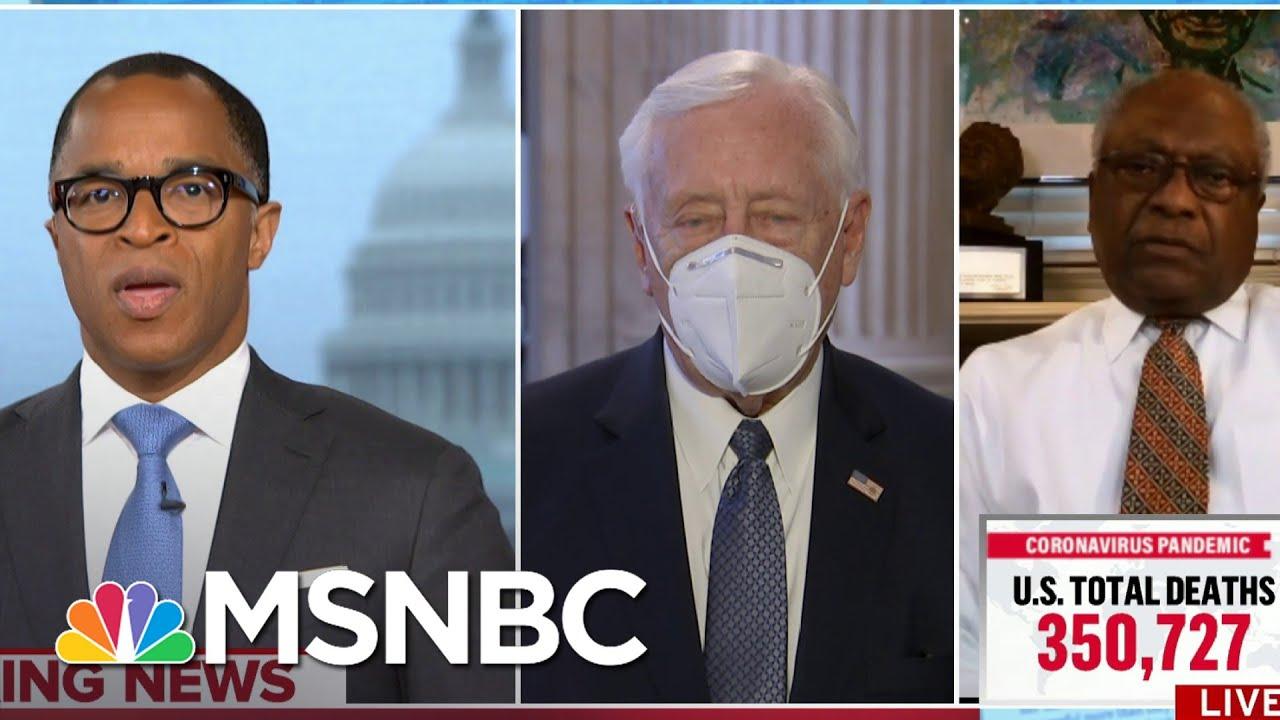 Reps. Clyburn, Hoyer Respond To 12 Senators Planning To Object to Biden's Certification   MSNBC 9
