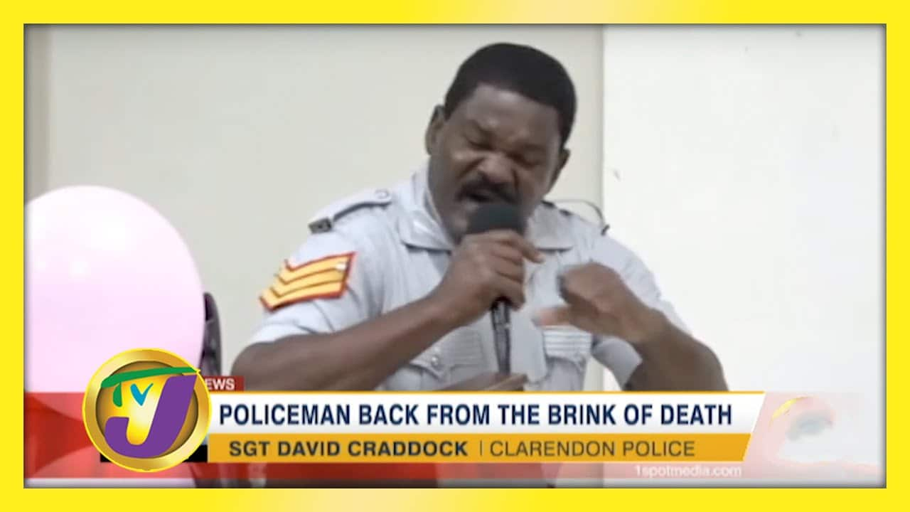 Policeman back From the Brink of Death - January 6 2021 1