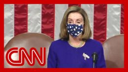 Nancy Pelosi speaks as Congress reconvenes after riot at Capitol 4
