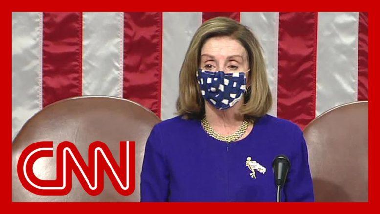 Nancy Pelosi speaks as Congress reconvenes after riot at Capitol 1