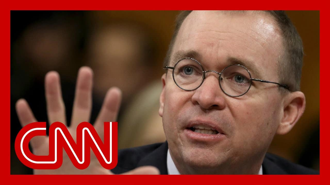 Mick Mulvaney resigns from Trump administration 1