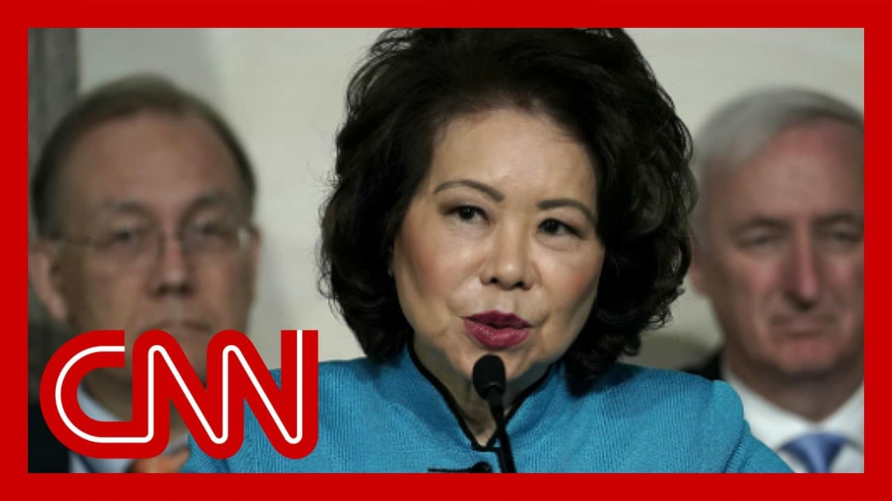 Elaine Chao first Trump Cabinet member to resign in wake of riot 1