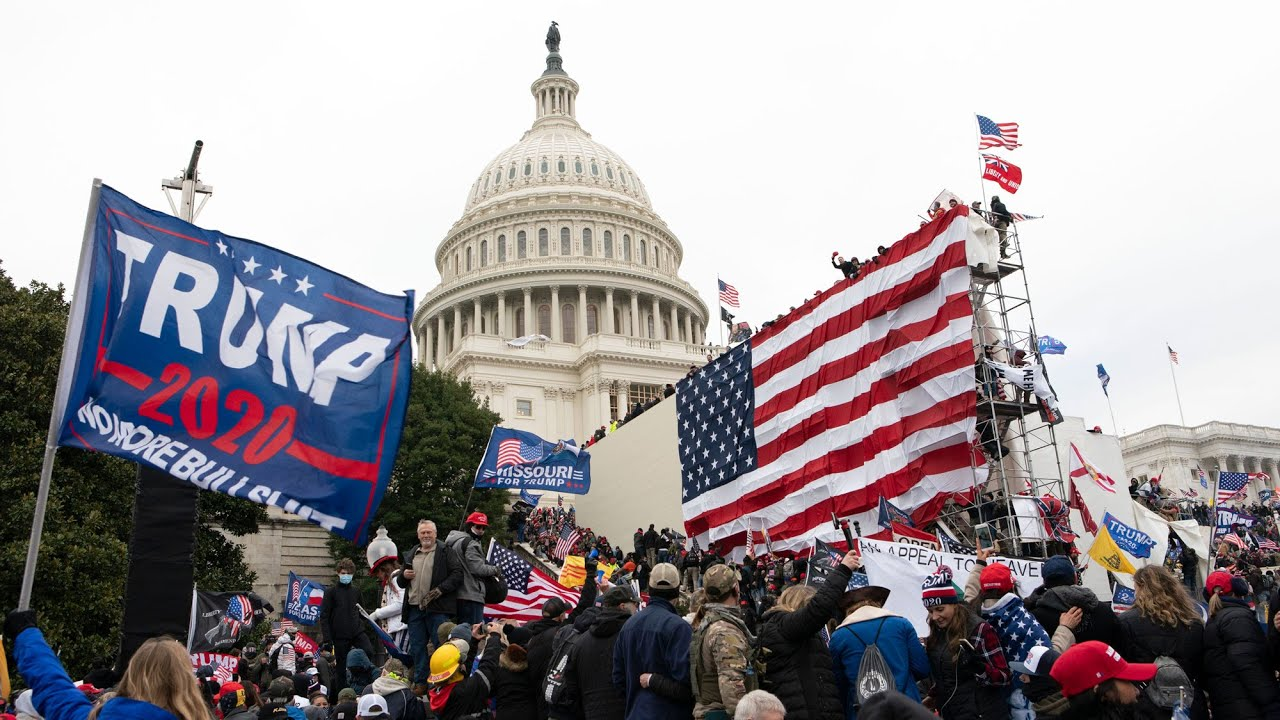 Rioters invade U.S. Capitol, encouraged by U.S. President Trump   CTV National News 1