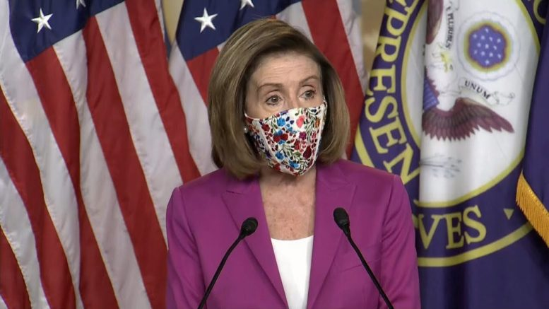Pelosi calls for U.S. President Trump's immediate removal, warns he could be impeached again 1