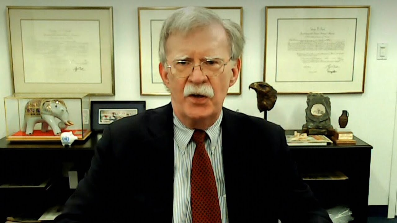 Bolton says it's 'almost certain' Trump will try to cause more damage before leaving office 3