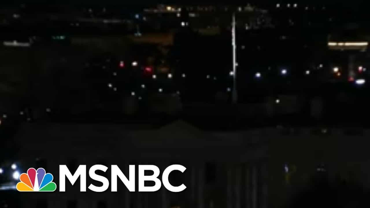 White House Sits In Darkness After Deadly Pro-Trump Riot | The 11th Hour | MSNBC 5