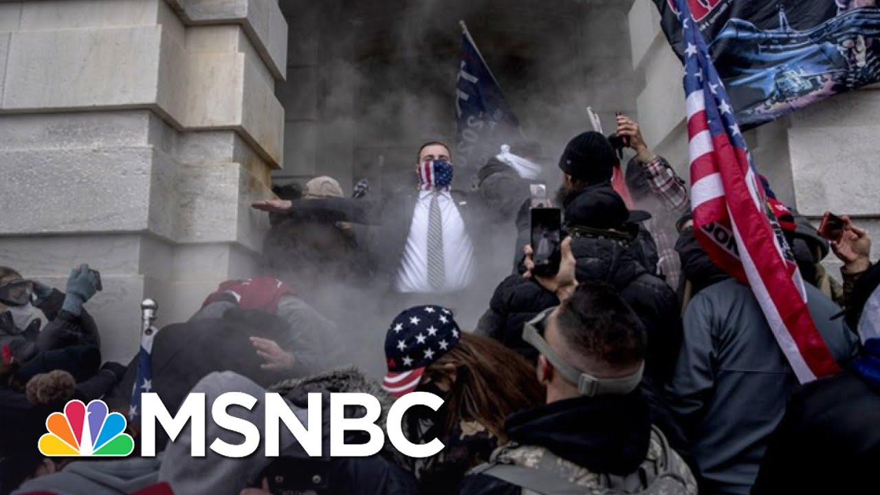 How Would Police Respond If Black Lives Matter Stormed The Capitol? | The 11th Hour | MSNBC 4